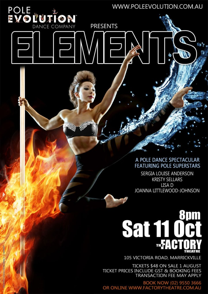 Pole Evolution Presents Elements - 11 October 2014 at The Factory, Sydney